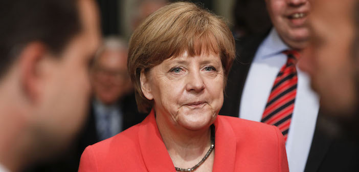 German Chancellor Angela Merkell