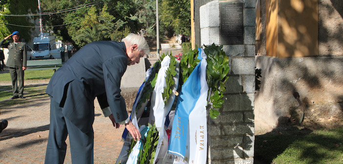 July 24, 1974 was the day the military dictatorship fell in Greece. Greek president Prokopis Pavlopoulos commemorated the anniversary with a wreath at a memorial for those killed during the brutal dictatorship.