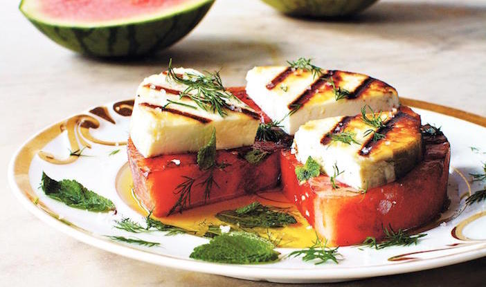Grilled-Watermelon-and-Grilled-Manouri-from-Psilakis-book