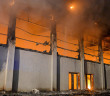 German refugee shelter torched in 'anti-immigrant' attack in Nauen, Germany