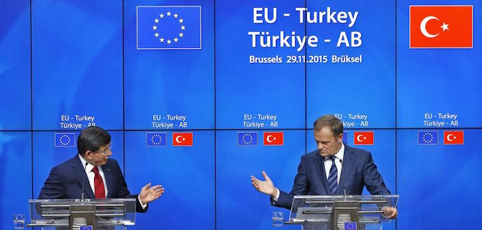 Turkey and EU Seal Deal for Stopping the Flow of Refugees to Europe