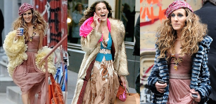 Carrie Bradshaw by Patricia Field