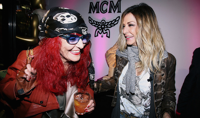 Anna Vissi with Patricia Field