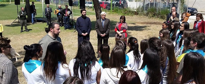 President of the Hellenic Republic Prokopis Pavlopoulos visits Ark of the World