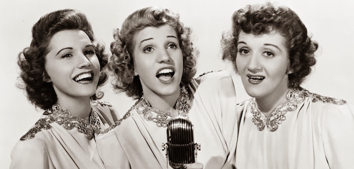 andrews sisters #4 - NEW