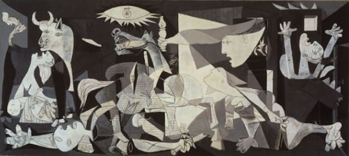 Pablo Picasso's Guernica from 1937
