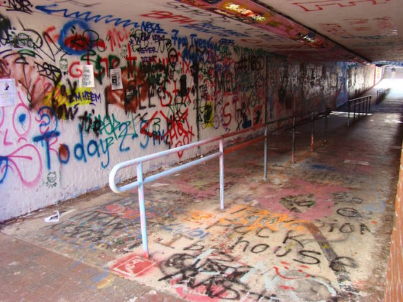 Athens Mayor Launches Graffiti Clean Up Efforts