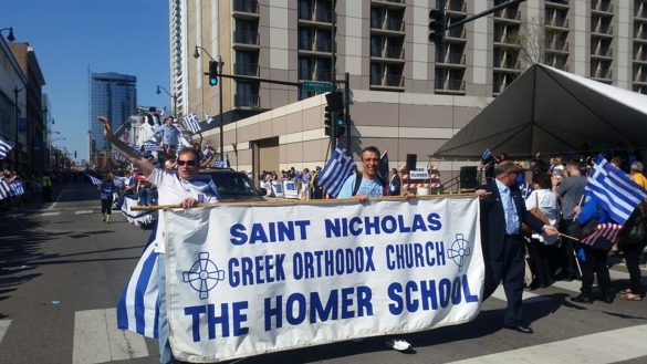 (Photos) Chicago Welcomes Evzones Back to Windy City for Greek Parade