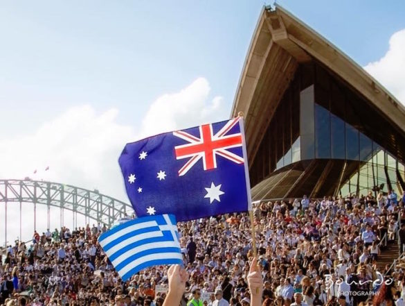 Sydney Photographer Captures Stunning Images of Greek Independence Say Down Under