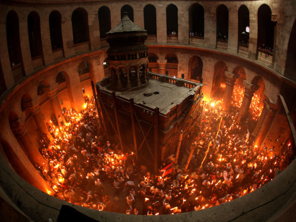 (Photos) Orthodox Christians Prepare for Holy Fire Ritual in Jerusalem This Saturday