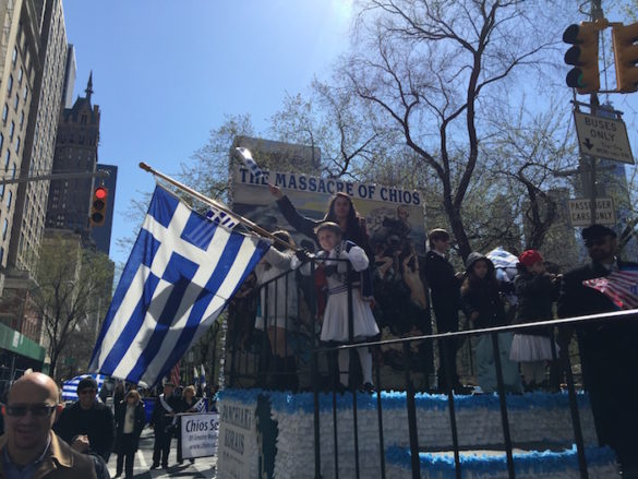 (Photos) New Yorkers Celebrate Greek Independence Day with Massive Fifth Avenue Parade