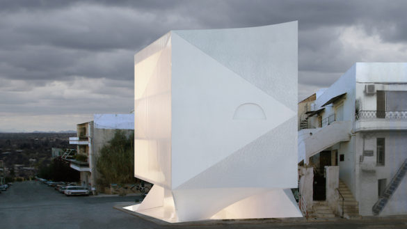 (Photos) A Stunning Marble Apartment Building is Popping up in an Athens Neighborhood