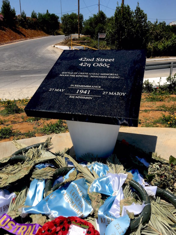 Australian, New Zealand Troops During Battle of Crete Get Their Chapter in History with Hania Memorial