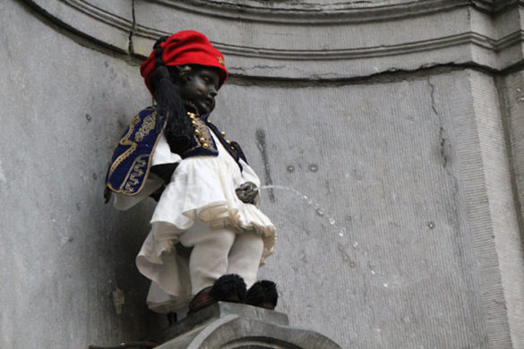 """Photo of the Day: Belgian """"Little Man"""" Pees"""