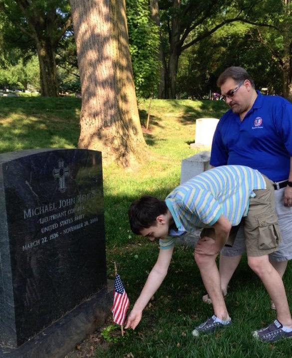 Tradition Continues Since 1949 as AHEPA Visits 600+ Graves at Arlington National Cemetery