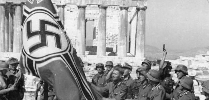 On this Day May 30, 1941: Two Greek University Students Take Down Nazi Flag from the Acropolis