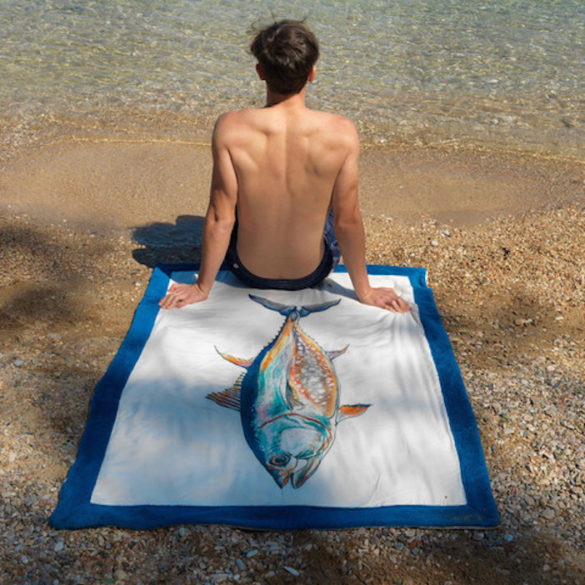 Awareness and Support for the Mediterranean's Fragility by Greece's Premier Beach Towel Company Sun of a Beach