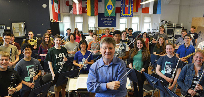 Tom Duffy and the Yale Concert Band