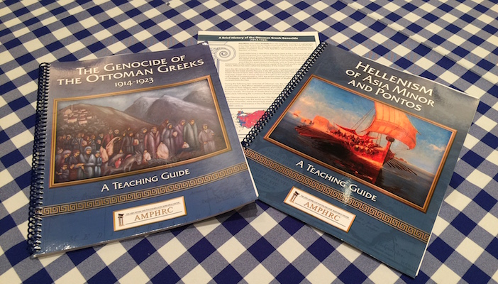 Workbooks and history brochures designed especially for young people were handed out to all in attendance.