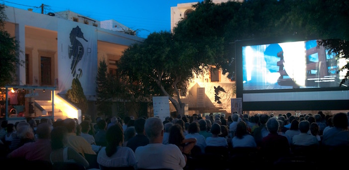 The Patmos International Film Festival is like Cannes of the Aegean, with much nicer surroundings.