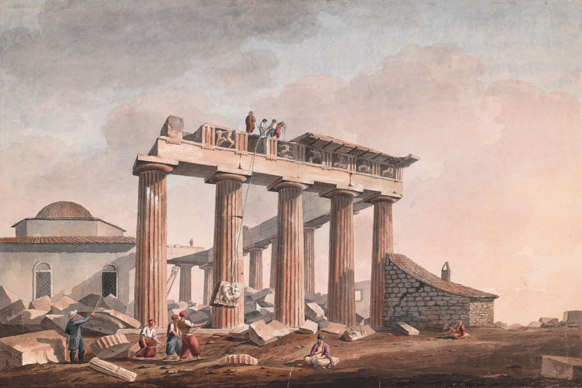 On This Day July 31, 1801: The Rape of the Parthenon Begins