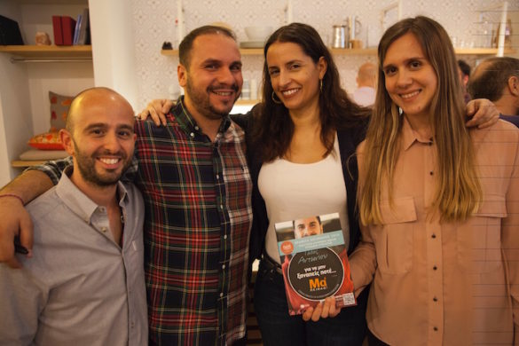 Greek Food Blogger Tassos Antoniou Debuts His Successful Cookbook in New York City