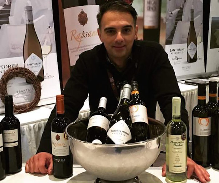 Steve Kriaris from Toronto has single-handedly made Greek wines in Ontario and beyond a household. Through his company's almost exclusive emphasis on Greek wines and his relationship's with the country's government-run Liquor boards, Greek wine sales approach numbers close to France and Italy, thanks to his efforts.
