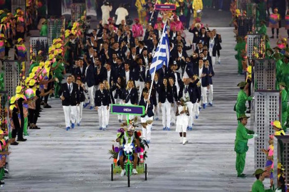 (Photos) Rio Olympics Open With Greece in Position of Honor