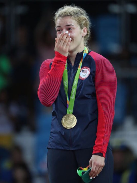 """""""Greek by birth. Wrestler by heart. Passionate about life"""" Helen Maroulis Scores Upset of the Rio Olympics with Wrestling Gold for Team USA"""