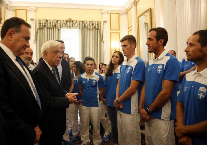 Anna Korakaki, Greece's only two-medal winner at the Rio 2016 Olympics was blatantly absent from the Greek government's official ceremony welcoming home the Greek Olympic Team.
