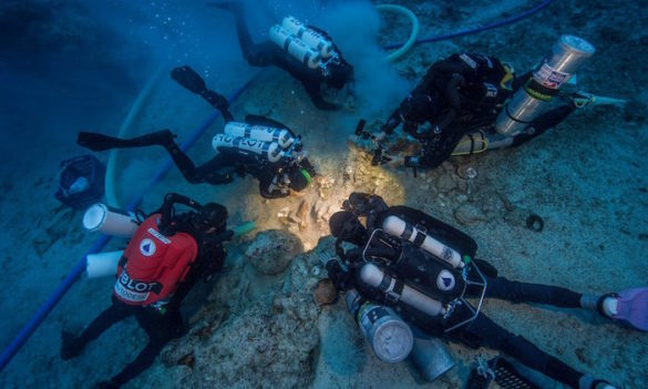 Major Discovery a First in Underwater Archaeology; Antikythera Shipwreck Yields Human Skeleton