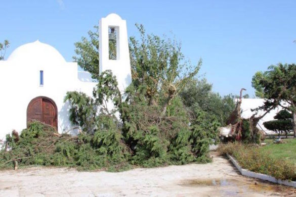 (Photos) Greece Recovering from Flash Floods; Devastation at Archdiocese's Ionian Village Camp in Peloponnese