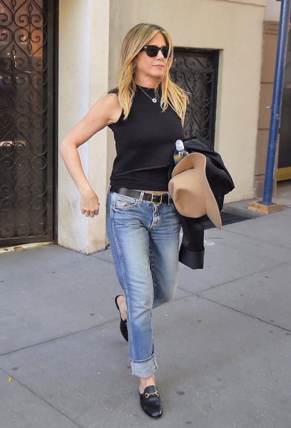Ftou Ftou, Just in Case, Jennifer Aniston Keeping Away Evil Spirits with Mati Necklace