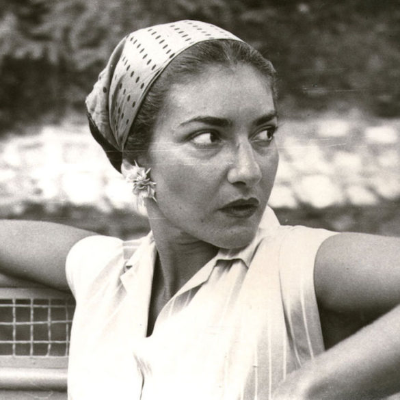(Photos) New Book with Never Before Seen Photos from Life, Career of Maria Callas