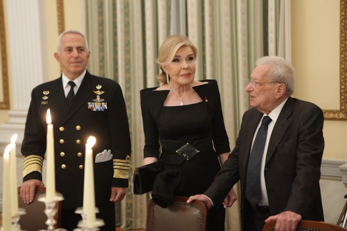 Marianna Vardinogianni was amongst the Greek private citizens invited to the State Dinner.