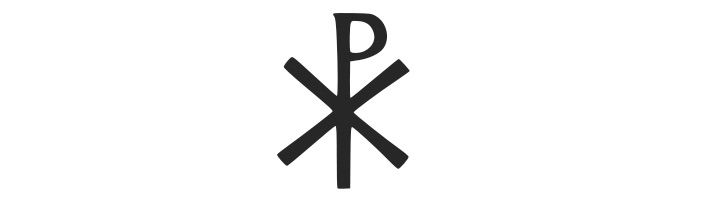 constantine the great used this symbol wit the first two greek letters from the name of - How To Say Merry Christmas In Greek
