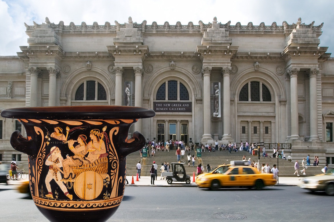 Nycs metropolitan museum surrenders ancient greek vase to the the manhattan district attorneys office recently ordered the metropolitan museum of art to hand over an ancient greek vase that it believes was looted from reviewsmspy