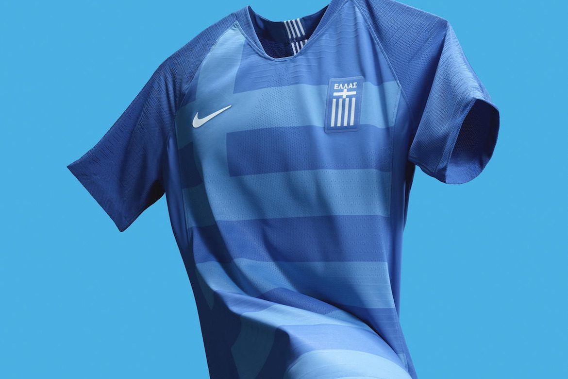 fad1ccf5c Nike and Greek National Team Releasing New Greece National Football Soccer  Jersey April 4