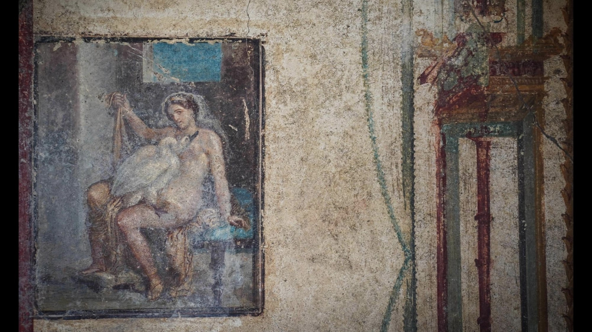 The monuments of the ancient pompeii