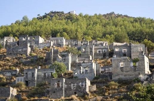 Abandoned Greek Village in Turkey on Auction Block by Turkish Government