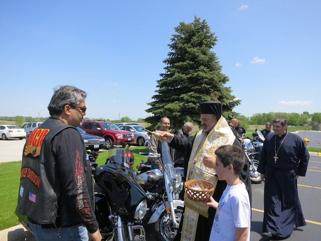 Chicago Bishop Blesses… the Motorcycles!