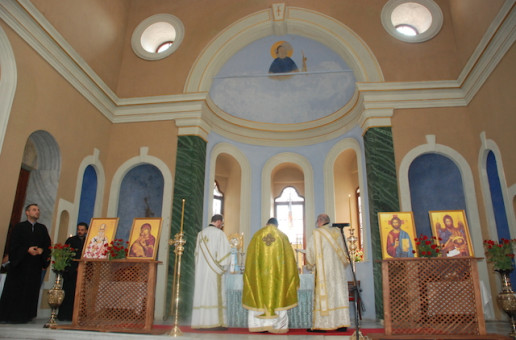 First Divine Liturgy in 90+ Years in Only Church to Survive Smyrna Fire