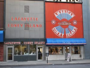 Greeks and Hot Dogs: Detroit's Coney Island a Regional Icon #GreekAmericanFoodStories