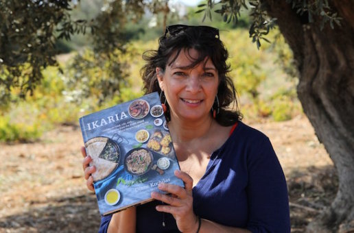 Diane Kochilas Publishes New Cookbook About Ikaria, the Island Where People Forget to Die