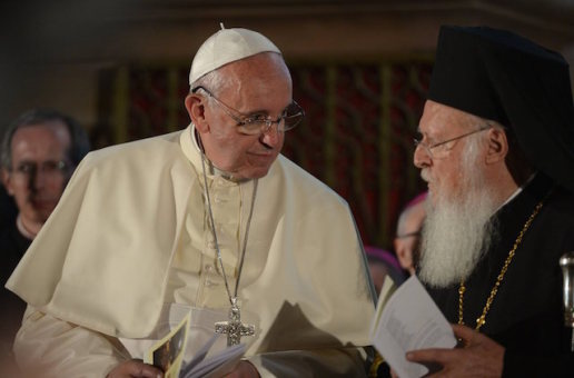 Pope Hints at More Cooperation with Orthodox at Upcoming Meeting with Bartholomew in Turkey