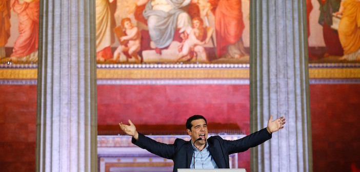 Good Luck Prime Minister Alexis Tsipras